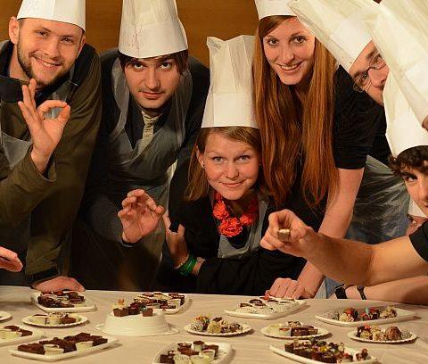 тиймбилдинг шоколад
