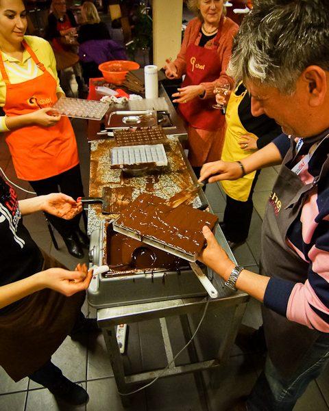 шоколадов тиймбилдинг